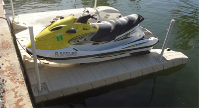 personal watercraft float